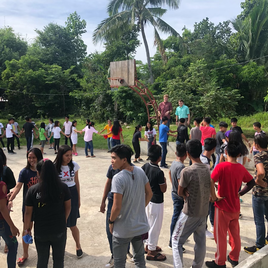 youth gathering in General, Aguinaldo